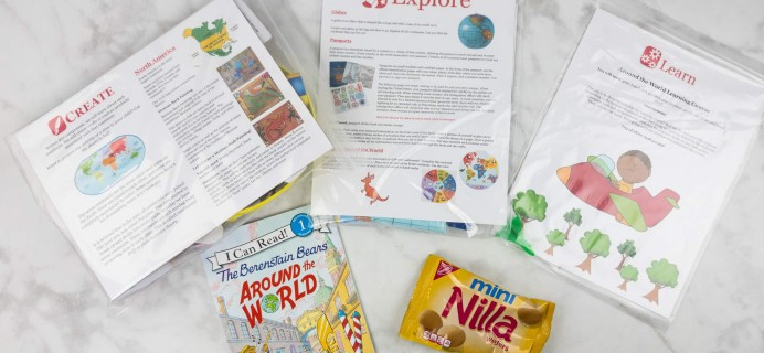 Little Thinker Box Around The World Box Review