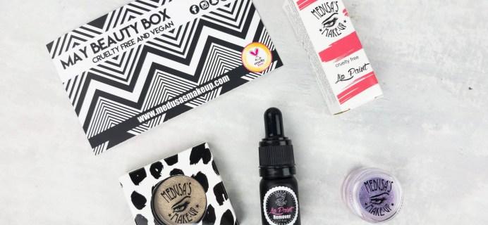 Medusa's Make-Up Beauty Box Subscription Box Review – May 2017