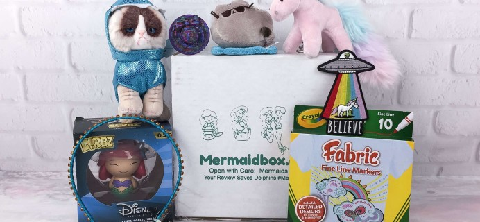 Mermaidbox Spring 2017 Subscription Box Review + Coupon