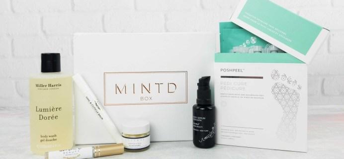 MINTD Box May 2017 Subscription Box Review + Coupon!