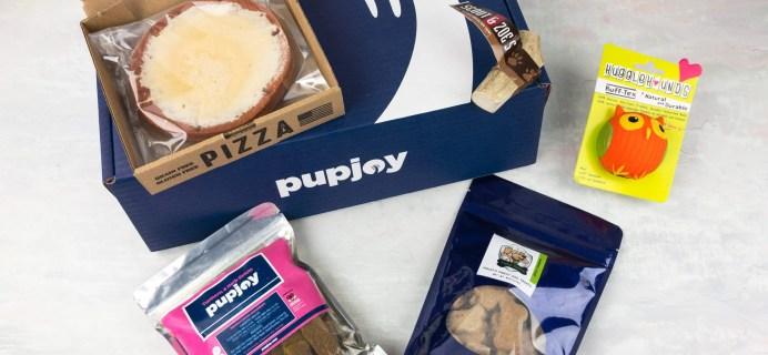 PupJoy May 2017 Subscription Box Review + Coupon