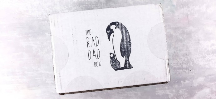The Rad Dad Box March 2018 Spoilers!