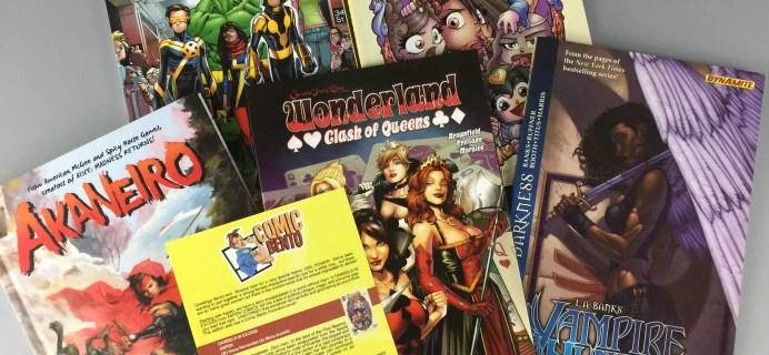 Comic Bento June 2017 Subscription Box Review & Coupon