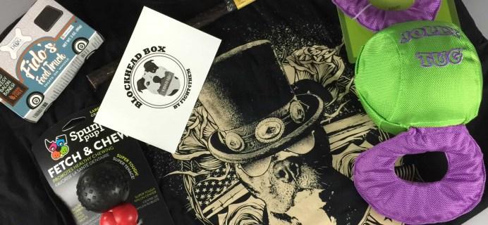 Blockhead Box June 2017 Subscription Box Review + Coupon
