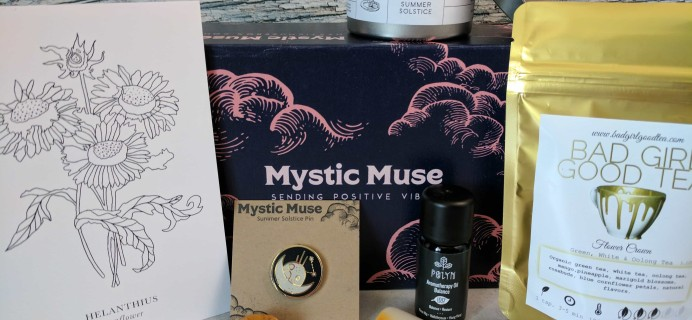 Mystic Muse Subscription Box Review – June 2017