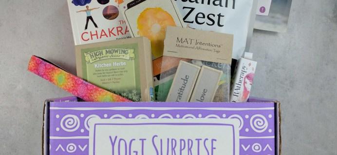 Yogi Surprise Subscription Box Review + Coupon – June 2017