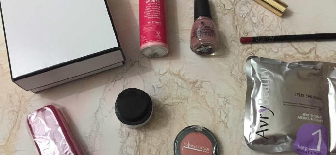 Luxe Box Summer 2017 Subscription Box Review