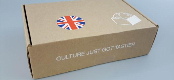 Taste & Curiosity May 2017 Subscription Box Review – London Box