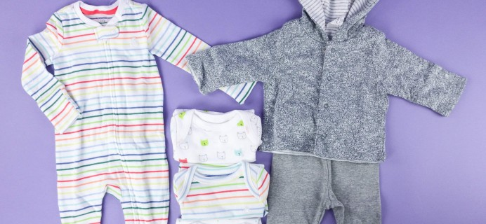 babyGap OutfitBox Summer 2017 Subscription Box Review