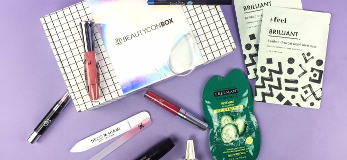 Beautycon Box Summer 2017 Subscription Box Review + Coupon