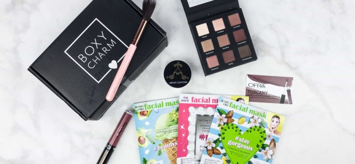 June 2017 Boxycharm Giveaway!