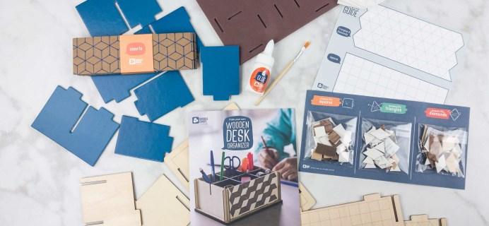 Doodle Crate June 2017 Subscription Box Review & Coupon – MOSAIC ORGANIZER