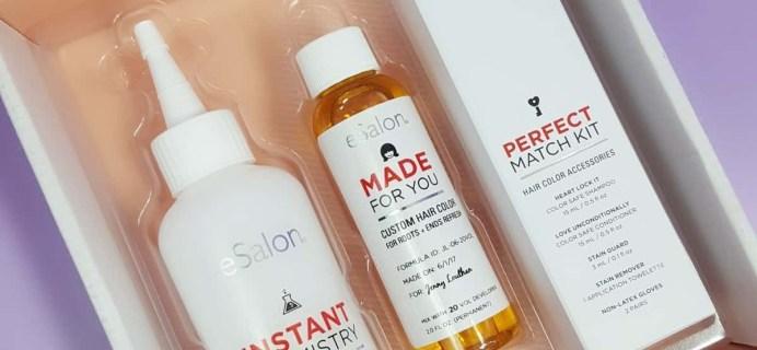 June 2017 eSalon Custom Hair Color Subscription Review + Coupon