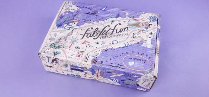 FabFitFun Summer 2017 Subscription Box Review + $10 Coupon