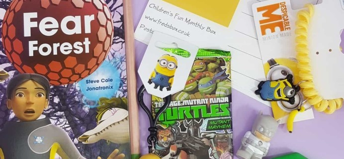 Fred's Box June 2017 Subscription Box Review