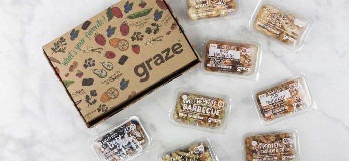 Graze Savory Box Review & Free Box Coupon – June 2017