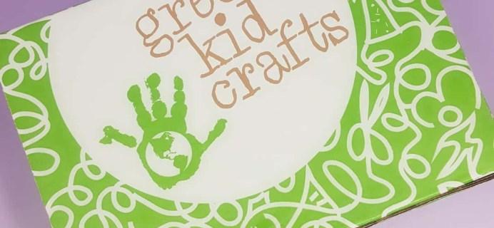 Green Kid Crafts May 2017 Subscription Box Review + 50% Off Coupon!