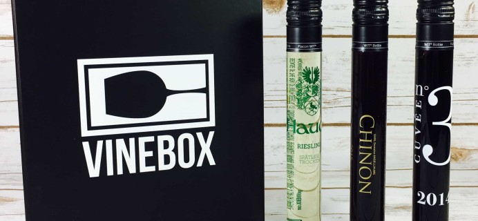 VINEBOX Subscription Box Review & Coupon – June 2017