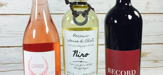 Wine Awesomeness June 2017 Review &  Coupon