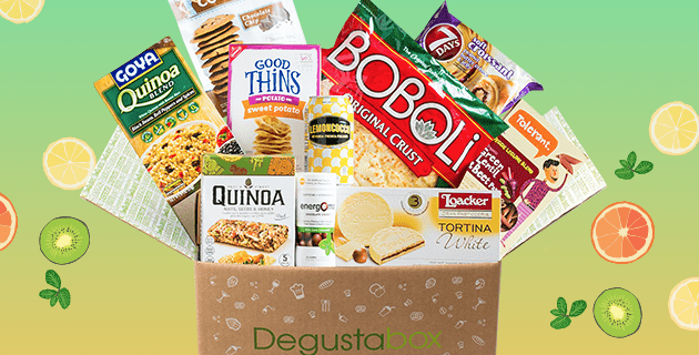 Degustabox 50% Off Coupon + Free Gift In First Box!