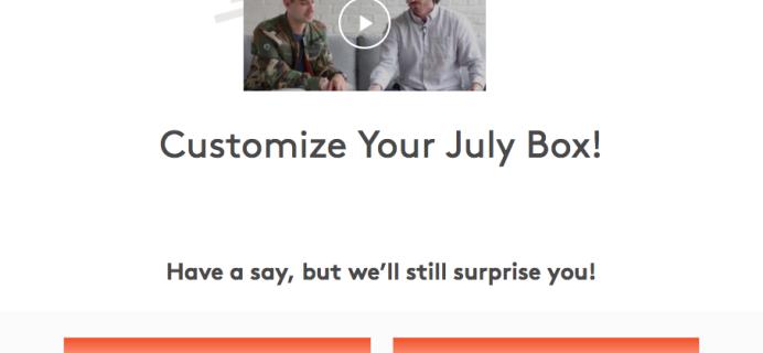 July 2017 Birchbox Man Sample Selection Time + Coupon!