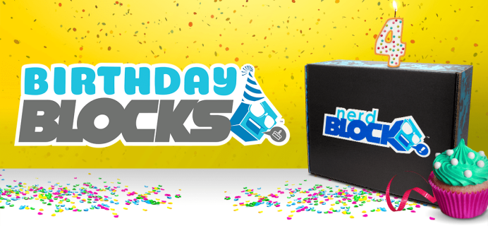 Nerd Block Birthday Grab Blocks Available Now!