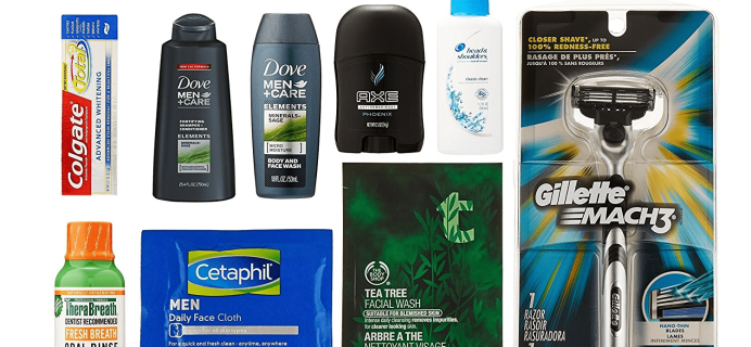New FREE After Credit Amazon Prime Men's Grooming Box!