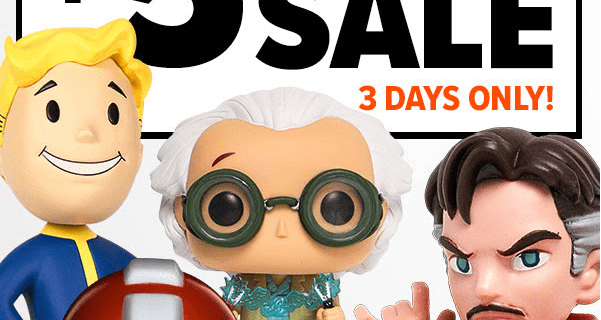 Loot Vault Friday $5 Figure Blowout + 30% Off All Loot Crate Subscription Crates!