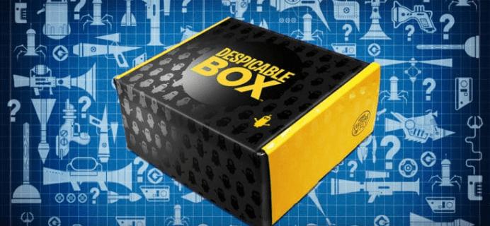 New Despicable Me Subscription Box – The Despicable Box!
