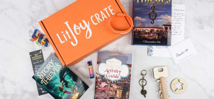 LitJoy Crate Summer 2017 Subscription Box Review + Coupon – Middle Grade Crate