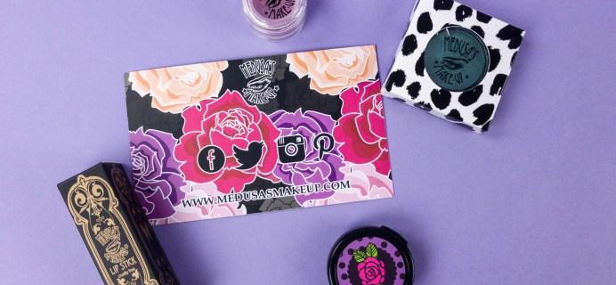 Medusa's Make-Up Beauty Box Subscription Box Review – June 2017