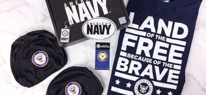 Valor Blocks June 2017 Subscription Box Review – U.S. Navy Block