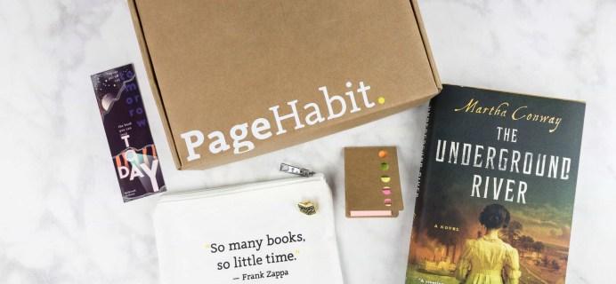 PageHabit June 2017 Subscription Box Review + Coupon – Historical Fiction