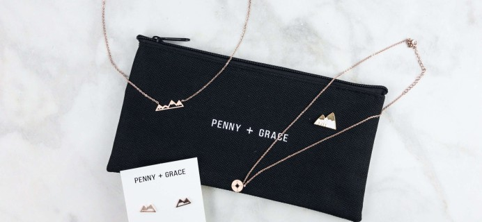 Penny + Grace June 2017 Subscription Box Review + Coupon