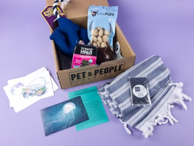 Pet & People Parcel May 2017 Subscription Box Review + Coupon
