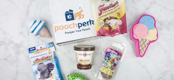 Pooch Perks July 2017 Subscription Box Review + Coupon!