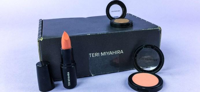 Teri Miyahira Beauty June 2017 Subscription Box Review + Coupon!