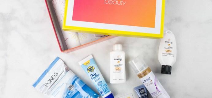 Walmart Beauty Box Summer 2017 Review – Classic Box