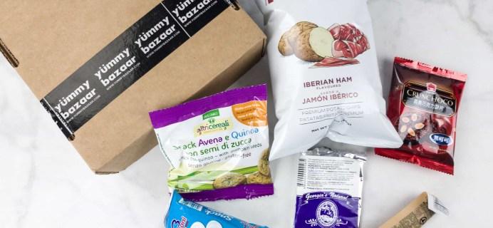 June 2017 Yummy Bazaar Subscription Box Review – Mini Box