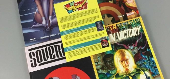 Comic Bento July 2017 Subscription Box Review & Coupon