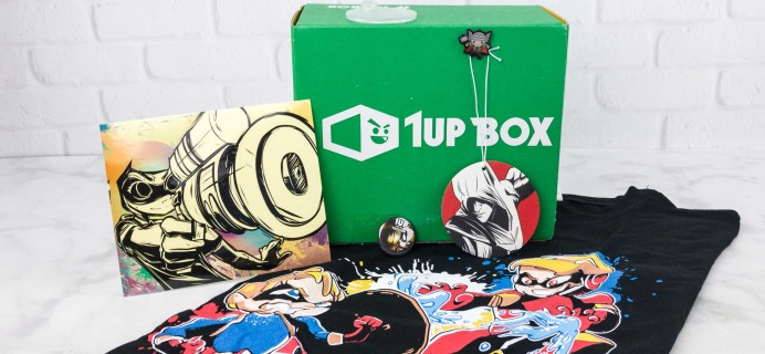 1Up Box July 2017 Subscription Box Review + Coupon