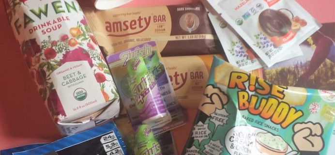 FitSnack June 2017 Subscription Box Review & Coupon