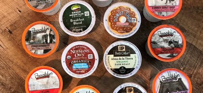 Amazon Prime K-Cups Coffee Sample Box Review – FREE After Credit!