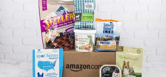 Amazon Prime Sample Box Review – Dog Food and Treats Sample Box