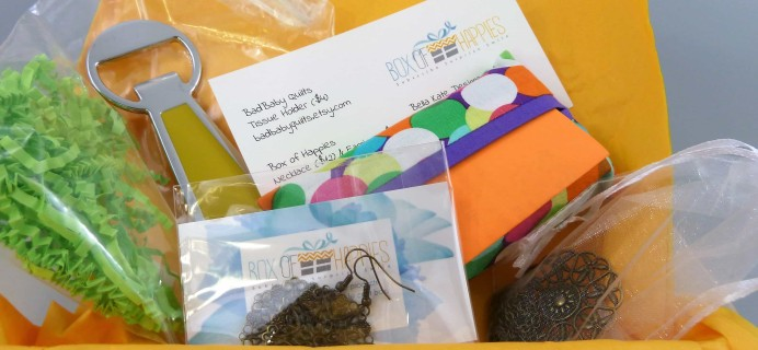 Box of Happies July 2017 Subscription Box Review