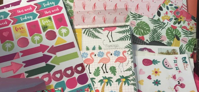 Planner Girl Provisions July 2017 Review