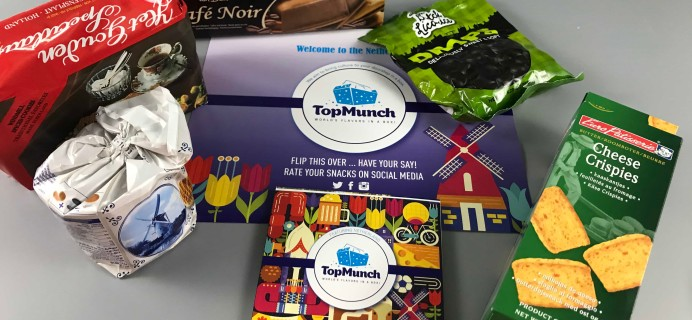 TopMunch June 2017 Subscription Box Review + Coupon – Netherlands