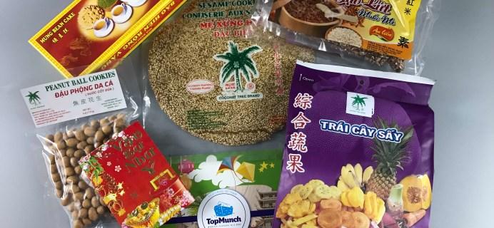 TopMunch July 2017 Subscription Box Review + Coupon – Vietnam