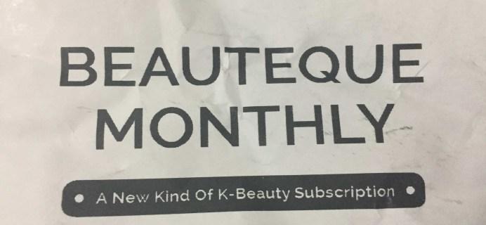 Beauteque Mask Maven June 2017 Subscription Box Review + Coupon