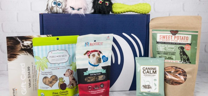 PupJoy July 2017 Subscription Box Review + Coupon